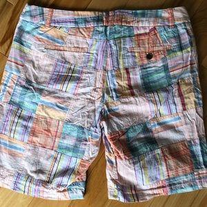J. Crew Shorts - J Crew Madras Bermuda shorts